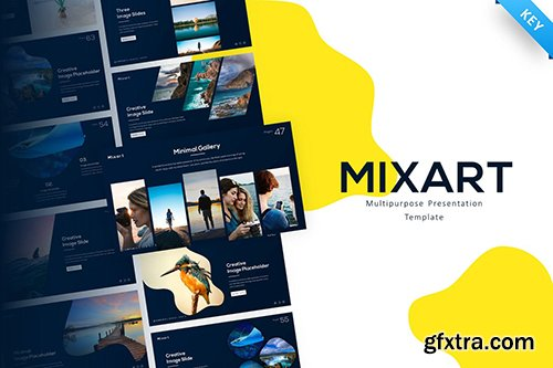 Mixart Multipurpose Creative Keynote Template