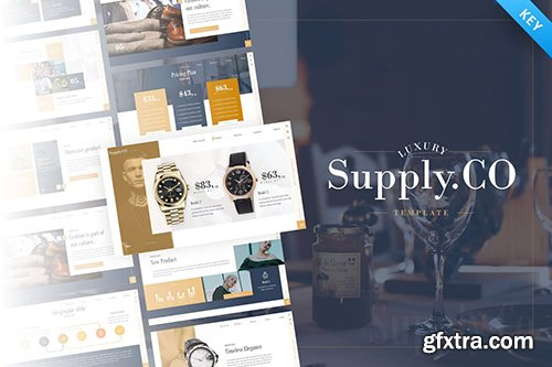 Supply.Co – Luxury Marketplace Keynote Template