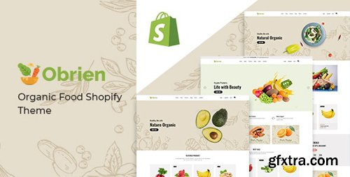 ThemeForest - Obrien v1.0.0 - Organic Food Shopify Theme - 28407536