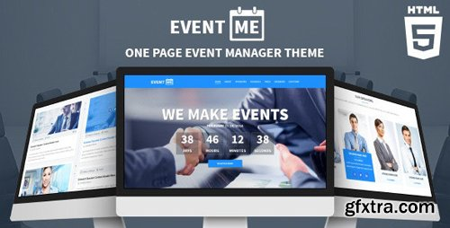 ThemeForest - EventMe v1.1 - Responsive Conference Landing Page - 7437582