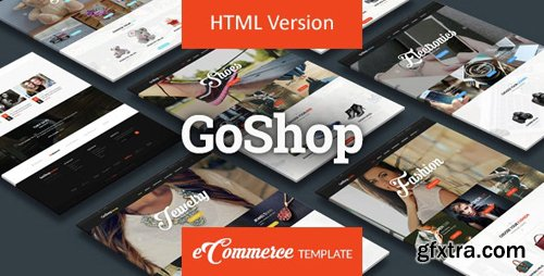 ThemeForest - GoShop v1.0 - Premium HTML Ecommerce Template - 15297611