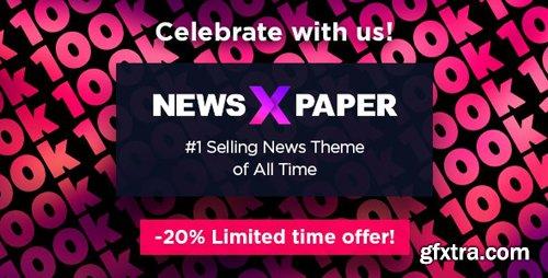 ThemeForest - Newspaper v10.3.6.1 - WordPress Theme - 5489609 - NULLED