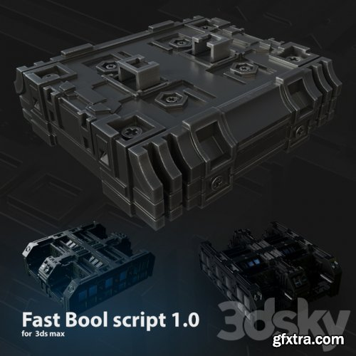 Fast Bool Script 1.0 for Max 2017-2020