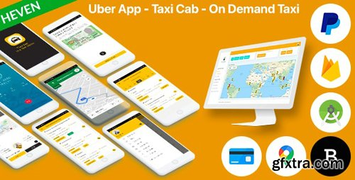 CodeCanyon - Uber App v5.4 - Taxi Cab - On Demand Taxi | Complete solution - 25137864