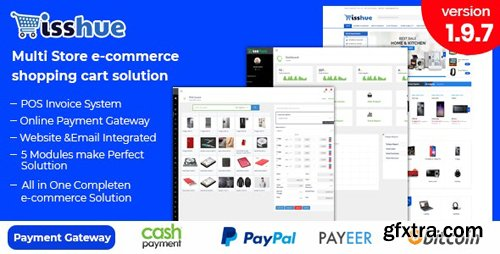 CodeCanyon - Isshue v2.0 - Multi Store eCommerce Shopping Cart Solution - 21576648 - NULLED