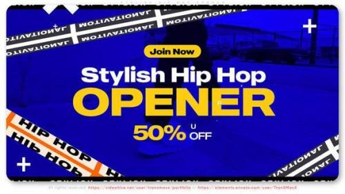 Videohive - Stylish Hip Hop Opener