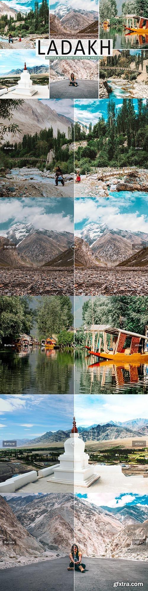 CreativeMarket - Ladakh Pro Lightroom Presets 5333639