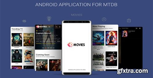 CodeCanyon - Android Application For MTDB v2.0 - Ultimate Movie&TV Database - 23581291