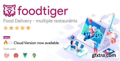 CodeCanyon - FoodTiger v1.4.0 - Food delivery - Multiple Restaurants - 26296970