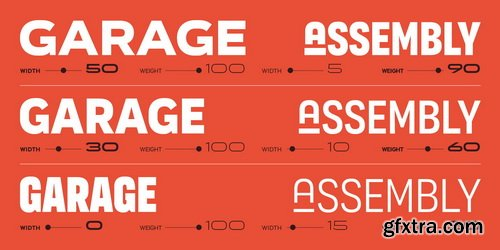 Organetto Font Family