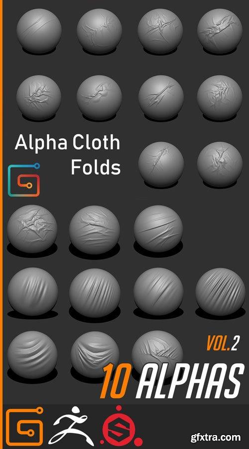20 Alpha Cloth Folds - Vol.1 & Vol.2