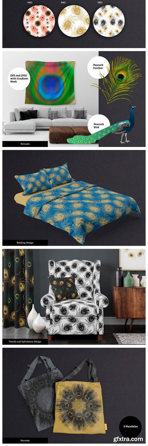 Golden Peacock Patterns 5059742