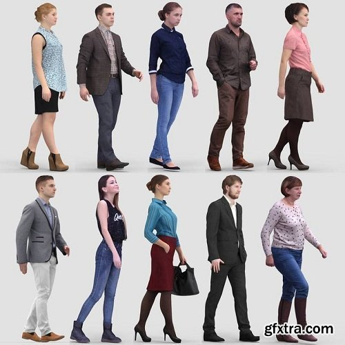 3d People Models Collection
