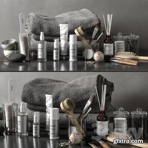 Bathroom set 44 3D model