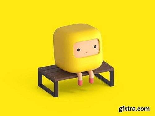 Blender 3D - Create a Cartoon Character