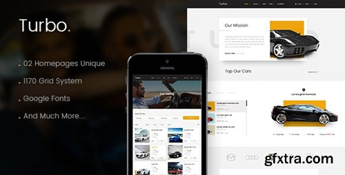 ThemeForest - Turbo v1.0 - Car Rental HTML Template - 15939858