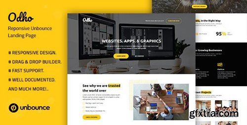 ThemeForest - Odho v1.0 - Responsive Unbounce Landing Page Template - 28513935