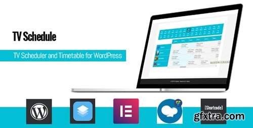 CodeCanyon - TV Schedule and Timetable for WordPress v1.1 - 23875707