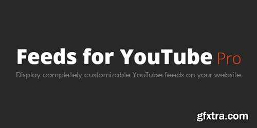 Feeds for YouTube Pro v1.2 - WordPress Plugin - NULLED