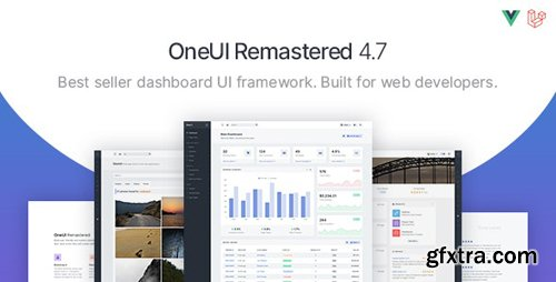 ThemeForest - OneUI v4.7.0 - Bootstrap 4 Admin Dashboard Template, Vuejs & Laravel 7 Starter Kit - 11820082