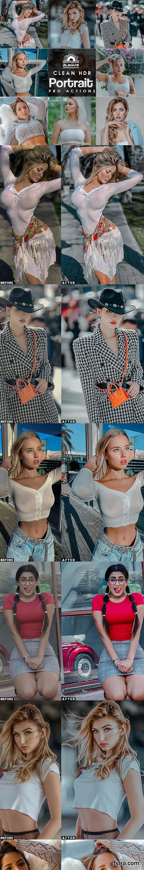 GraphicRiver - Clean Portrait Photoshop Actions 27749169