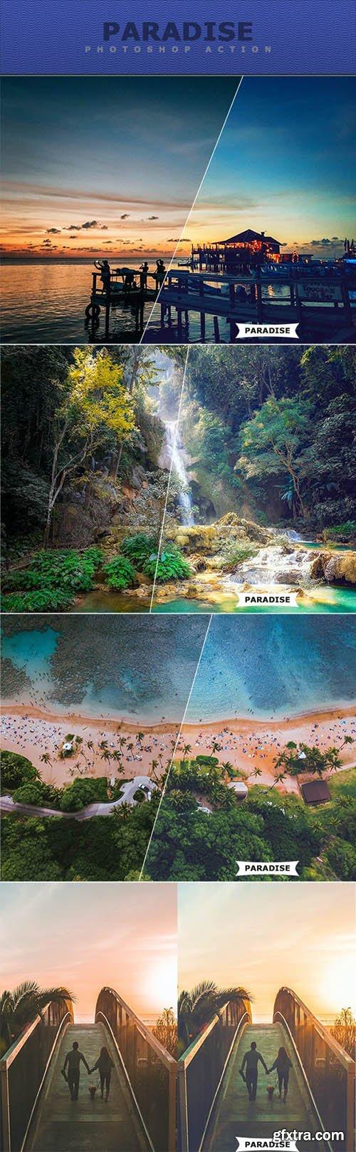 GraphicRiver - Paradise Photoshop Action 27717748