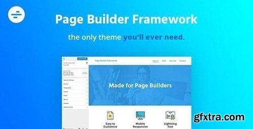 Page Builder Framework v2.5.6 / Page Builder Framework Premium Addon v2.5.7 - NULLED
