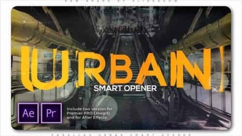 Videohive - Parallax Urban Smart Opener