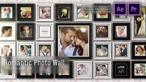Videohive - Romantic Photo Wall