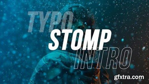 Videohive - Typo Stomp Intro - 28304216