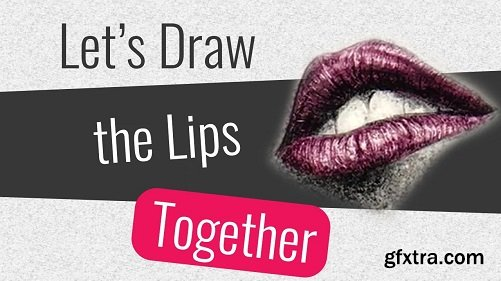 How to Draw Lips/Mouth with Pencil?