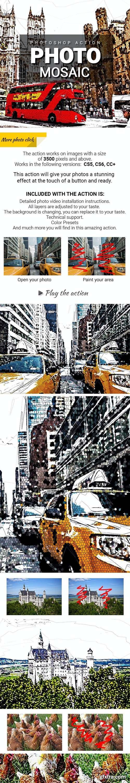 GraphicRiver - Photo Mosaic Photoshop Action 27986689