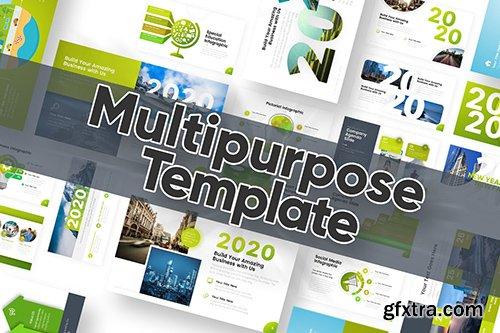 Multipurpose 2020 Edition Powerpoint Template
