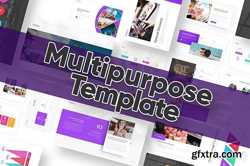 Sugary Multipurpose Powerpoint Template