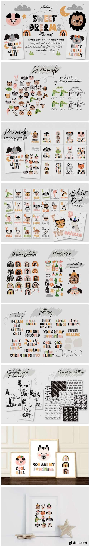 Sweet Dreams Little One Nursery Creator 5501783