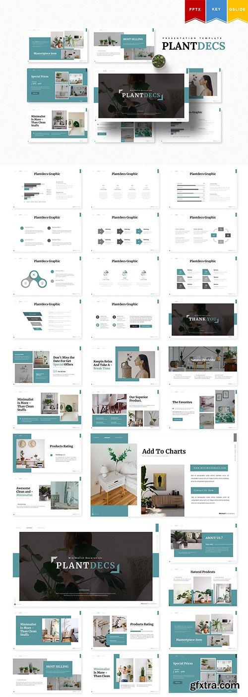 Plantdecs | Powerpoint, Keynote, Google Slides