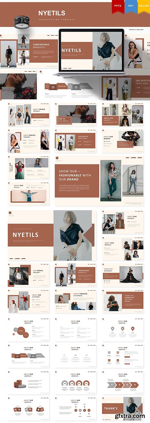 Nyetils | Powerpoint, Keynote, Google Slides