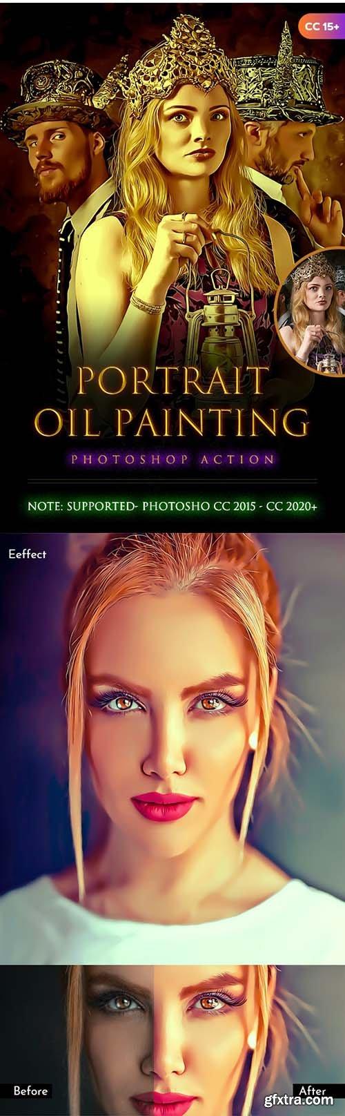 GraphicRiver - Portrait Oil Painting Action 28368558