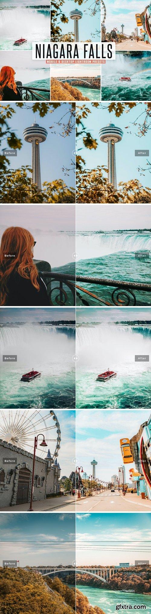 Niagara Falls Mobile & Desktop Lightroom Presets