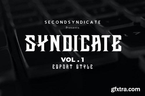 Syndicate Font Vol. 1