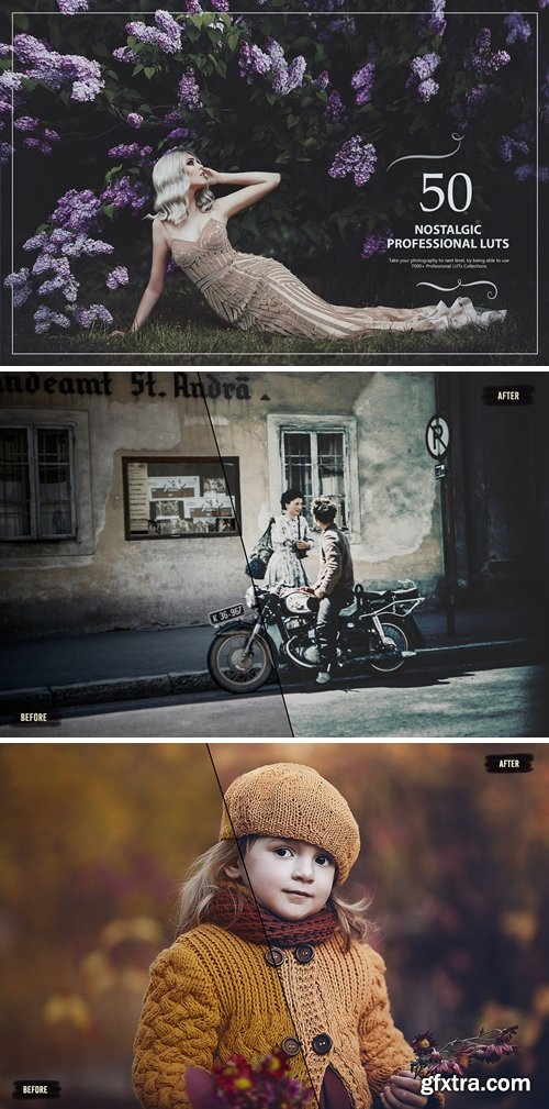 50 Nostalgic LUTs (Look Up Tables)