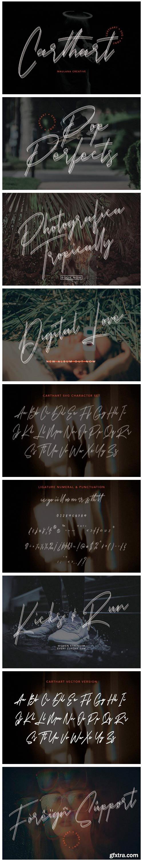 Carthart Font