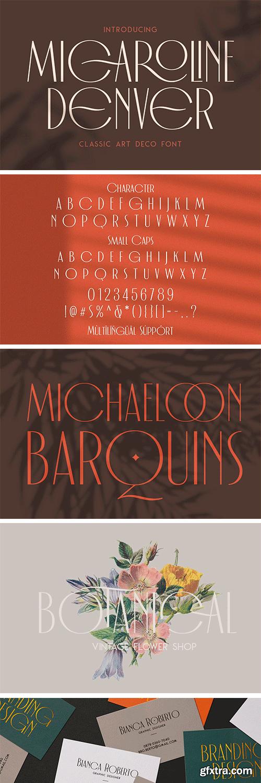CM - Micaroline Classic Typeface 5360758