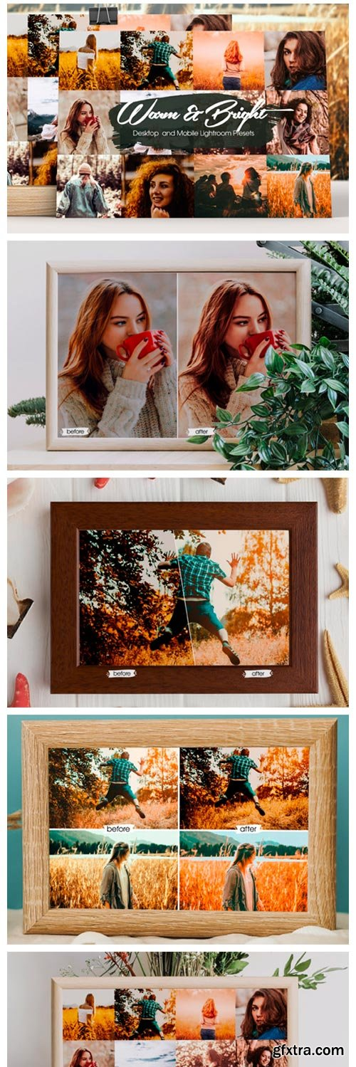 Warm and Bright Lightroom Presets 5528298