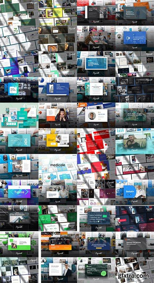 48 Keynote Templates Bundle