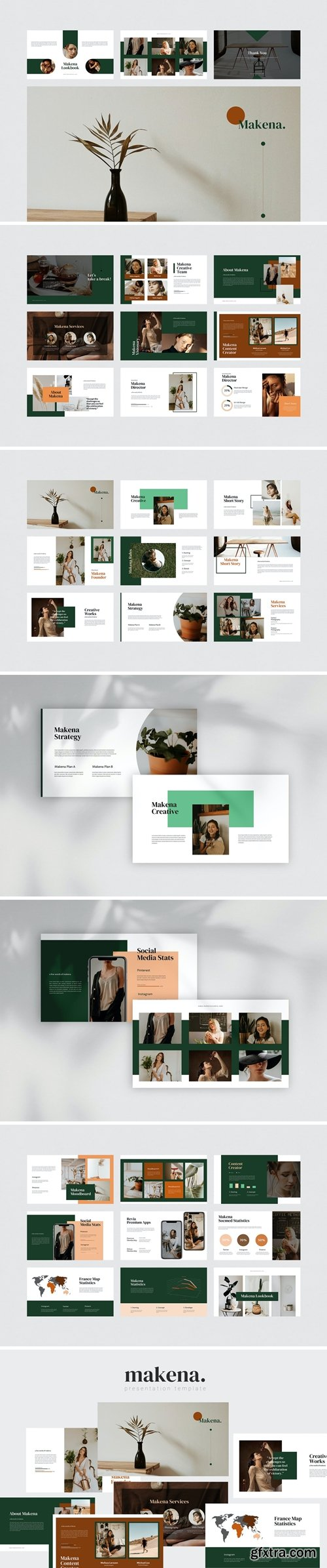 Makena - Creative Powerpoint Template