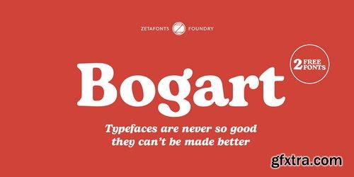 Bogart Font Family