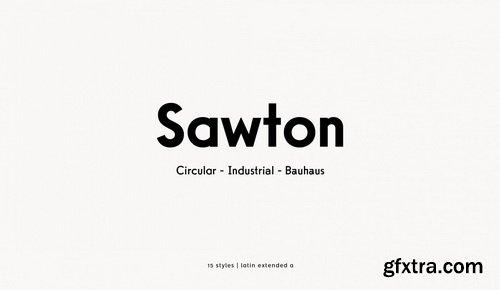Sawton Font Family