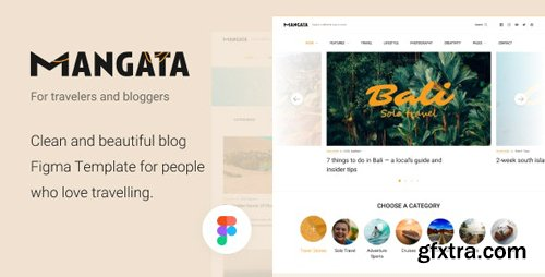 ThemeForest - Mangata v1.0 - Traveler Blog Template - 28536005