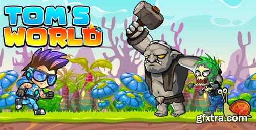 CodeCanyon - Super Jungle Adventure Tom World Full Unity Game v1.0 - 28472395